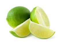 mogen ny limefrukt Fotografering för Bildbyråer