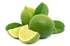 mogen ny limefrukt Arkivfoton