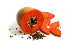 mogen papaya Royaltyfri Bild