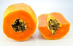 Mogen papaya Royaltyfria Foton
