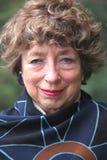 mogen pensionär för kvinnlig Royaltyfri Bild