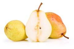mogen saftig pear Arkivfoto