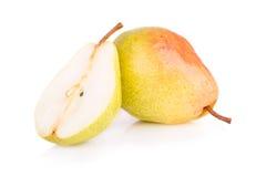 mogen saftig pear Arkivbilder