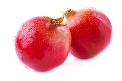 mogen saftig pomegranate Fotografering för Bildbyråer