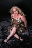 mogen sexig kvinna Royaltyfri Foto