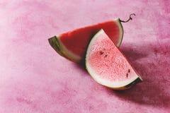 mogen skivad vattenmelon Royaltyfria Foton