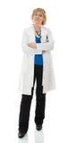 mogen standing för doktor Arkivbild