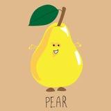 mogen yellow för pear Royaltyfri Bild