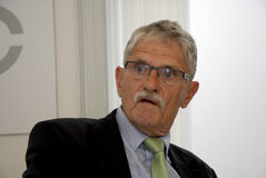 MOGENS LYKKETOFT_NEWLY ELECTED PRESIDENT IN UNO Stock Image