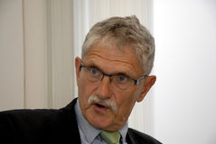 MOGENS LYKKETOFT_NEWLY ELECTED PRESIDENT IN UNO Stock Photos