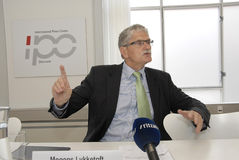 MOGENS LYKKETOFT_NEWLY ELECTED PRESIDENT IN UNO Royalty Free Stock Photography