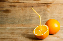 Moget nytt orange slut upp Fotografering för Bildbyråer