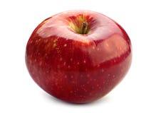 Moget rött äpple Arkivbild
