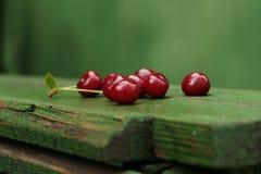 Moget surt Cherry Arkivbilder