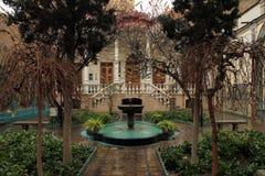 Moghadam房子博物馆,德黑兰,伊朗 免版税库存图片