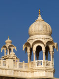 Moghul marble dome. Moghul style marble dome of Jaswant Thada, Jodphur, India Stock Photography