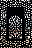 Moghul thomb window pattern stock image