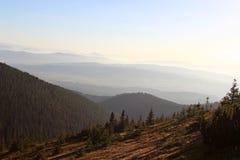 Mogielica Peak - Beskid Wyspowy, Poland Royalty Free Stock Image