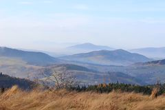 Mogielica Peak - Beskid Wyspowy, Poland Royalty Free Stock Photography