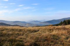 Mogielica Peak - Beskid Wyspowy, Poland Royalty Free Stock Images