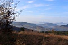 Mogielica Peak - Beskid Wyspowy, Poland Stock Photography