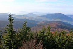 Mogielica Peak - Beskid Wyspowy, Poland Stock Photo