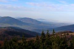Mogielica Peak - Beskid Wyspowy, Poland Royalty Free Stock Images