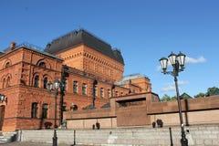 Mogilev的剧院,比拉罗斯 库存照片