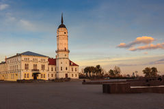 Mogilev city hall Royalty Free Stock Photography