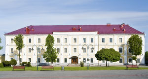 Mogilev. Museum.  Facade. Morning Royalty Free Stock Images