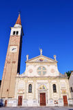 Mogliano Veneto chruch Stock Image