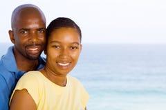 Moglie africana del marito immagini stock libere da diritti