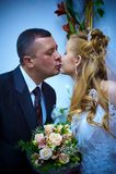 Moglie e marito di cerimonia nuziale Immagini Stock Libere da Diritti
