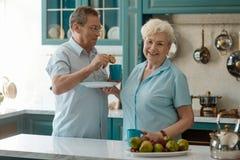 Moglie e marito felici fotografie stock libere da diritti