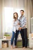 Moglie e marito incinti Fotografia Stock