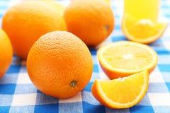 mogna apelsiner Arkivbilder