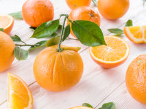 mogna apelsiner Arkivfoto