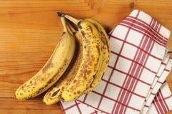 Mogna bananer Arkivbild