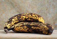 Mogna bananer Fotografering för Bildbyråer