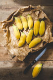 mogna bananer Royaltyfri Bild