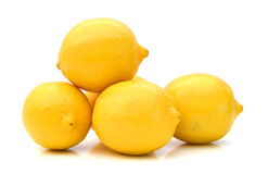 mogna citroner Arkivbilder