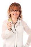 Mogna doktorn i hennes arbeta för 40-tal Royaltyfria Foton