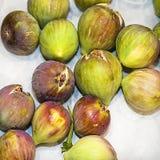 mogna figs isolerat Royaltyfria Foton