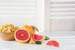 mogna grapefrukter Royaltyfria Bilder