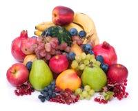 mogna nya frukter Arkivbild