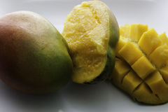 Mogna nya mango royaltyfria foton
