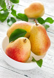 Mogna pears Royaltyfri Foto