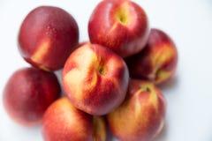 mogna persikor Arkivfoton