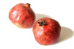 mogna pomegranates Arkivfoton