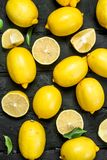 mogna saftiga citroner arkivbilder